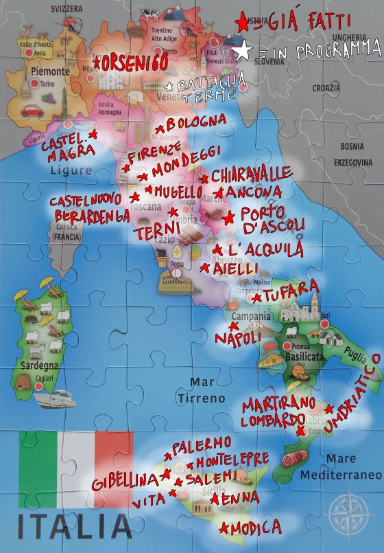mappa aggiornata al24 9